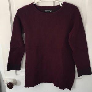 Magenta/purple sweater